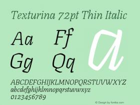Texturina 72pt