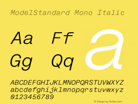 ModelStandard Mono