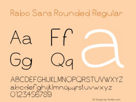 Rabo Sans Rounded