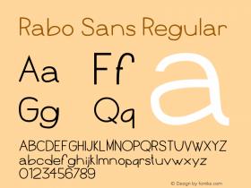 Rabo Sans