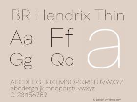 BR Hendrix