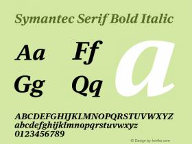 Symantec Serif