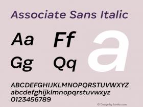 Associate Sans