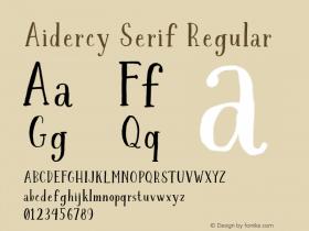 Aidercy Serif
