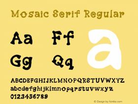 Mosaic Serif