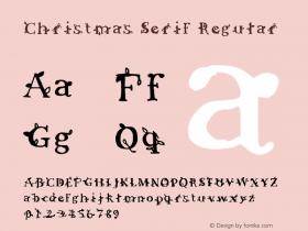 Christmas Serif