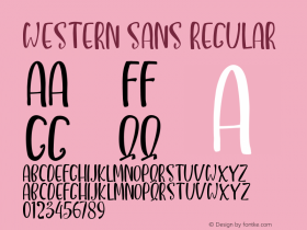 Western Sans