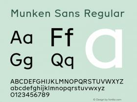 Munken Sans