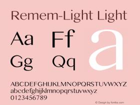 Remem-Light