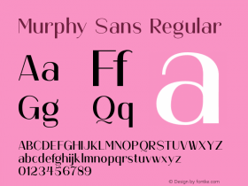 Murphy Sans