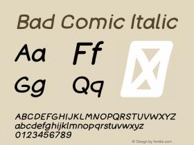 Bad Comic