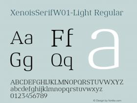 XenoisSerifW01-Light