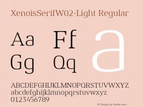 XenoisSerifW02-Light