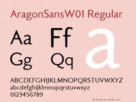 AragonSansW01