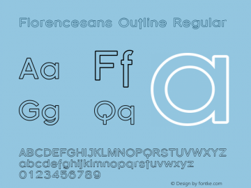 Florencesans Outline