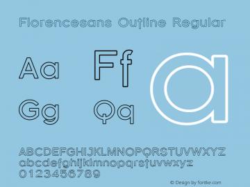 Florencesans Outline