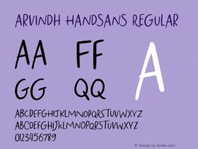 Arvindh Handsans
