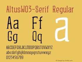 AltusW03-Serif