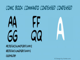 Comic Book Commando Condensed