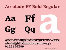 Accolade EF Bold