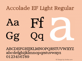 Accolade EF Light