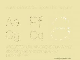 AustralSansW05-SpotsThin