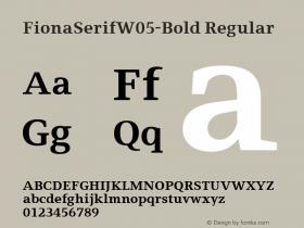FionaSerifW05-Bold