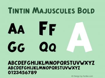 Tintin Majuscules