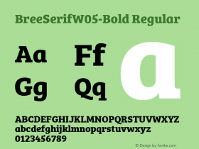 BreeSerifW05-Bold