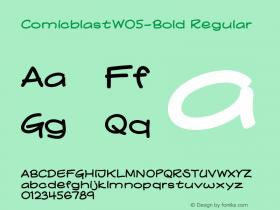 ComicblastW05-Bold