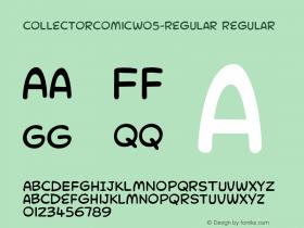 CollectorComicW05-Regular
