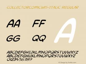 CollectorComicW15-Italic