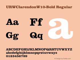 URWClarendonW10-Bold