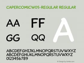 CaperComicW05-Regular