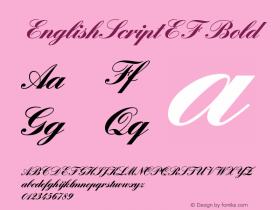EnglishScriptEF