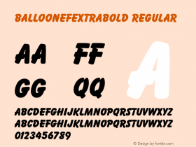 BalloonEFExtraBold
