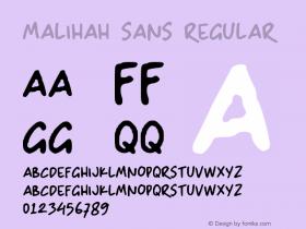 Malihah Sans