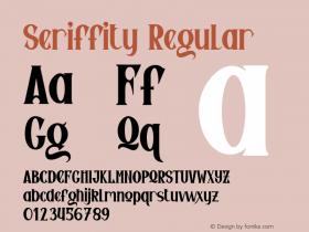 Seriffity