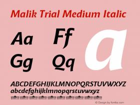 Malik Trial