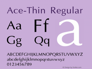 Ace-Thin