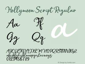 Hollymoon Script