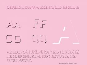 DeverSansW03-AccentBold