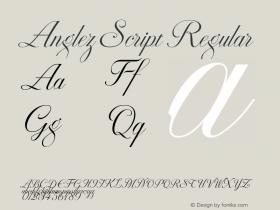Anglez Script