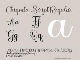 Chigoda Script