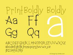 PrintBoldly