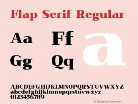 Flap Serif