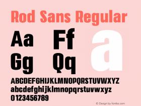 Rod Sans