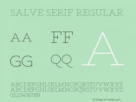 Salve Serif