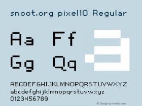 snoot.org pixel10