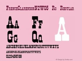 FrenchClarendonN2W05-Rg
